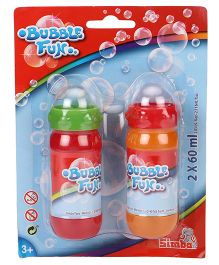 Simba Bubble Fun Liquid Set Pack of 2 - 60 ml