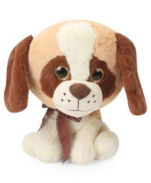 Archies Puppy Soft Toy Brown Beige - Height 25 cm