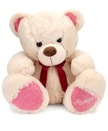 Archies Teddy Bear Soft Toy Pink Cream - 50 cm