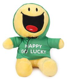 Archies Smiley Soft Toy Yellow Green - 25 cm