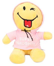 Archies Smiley Soft Toy Pink Yellow - 25 cm