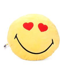 Archies Smiley Cushion - Yellow