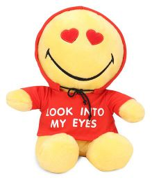 Archies Smiley Soft Toy Yellow Red - 25 cm