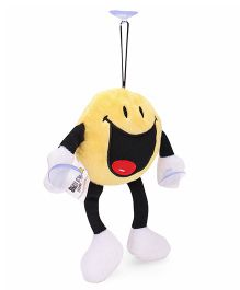 Archies Hanging Smiley Soft Toy Yellow - 15 cm