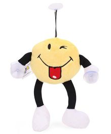 Archies Hanging Winking Smiley Soft Toy Yellow - 15 cm