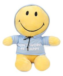 Archies Smiley Soft Toy Yellow Blue - 25 cm