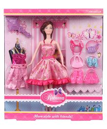 Sunny Doll With Accessories Pink - 29 cm