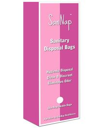SanNap Sanitary Disposal Bags - 40 Piece