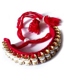 Akinos Kids Armlet Wedding Bracelet - Red