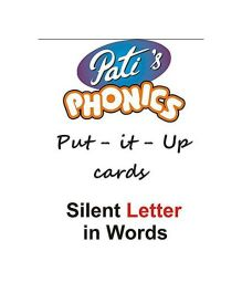 Phonics Silent Letter in Words Put It Up Cards - English