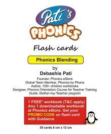 Phonics Blending Flash Cards - English