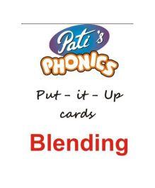 Phonics Blending Put It Up Cards - English
