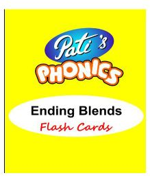 Phonics Ending Blends Sounds Flash Cards - English