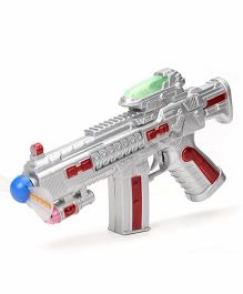 playmate Pirate Gun With Light And Sound - Blue & Grey