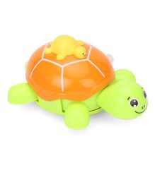 Toymaster Wind Up Turtle Toy - Green Yellow