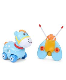 Remote Control Horse Toy - Blue