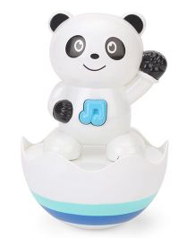 Playmate Musical Tumbler Panda - White Black Blue