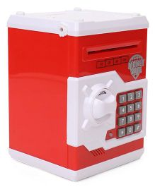 Playmate Money Bank With Electronic Lock - Red