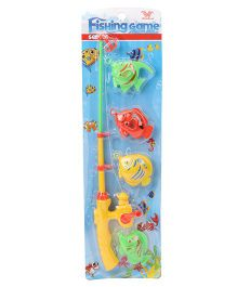 Playmate Fishing Game Set Pack of 4 - Multicolour (Color May Vary)