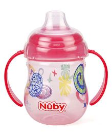 Nuby Twin Handle Grip N Sip Sipper Red - 270 ml