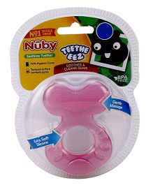 Nuby Soothing Teether With Case - Blue