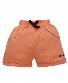 Tiny Bee Shorts For Girls - Orange