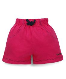 Tiny Bee Shorts For Girls - Pink