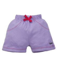 Tiny Bee Shorts For Girls - Lilac