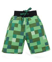 Tiny Bee Boys Shorts - Green