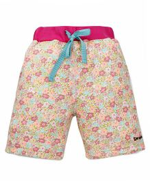 Tiny Bee Girls Shorts - Pink