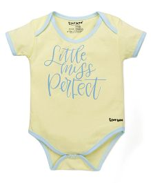 Tiny Bee Printed Basic Onesie - Yellow
