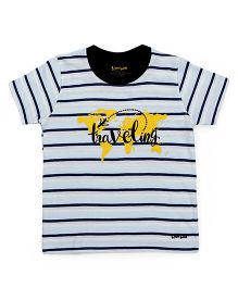 Tiny Bee Basic Crew Neck Tee - Multicolor