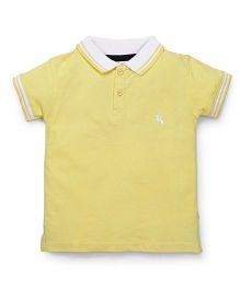 Tiny Bee Boys Polo Tee - Yellow