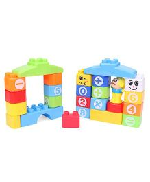 Sunny Building Blocks Multi Color - 24 Pieces