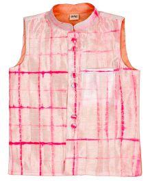 Raghav Tie N Dye Koti - Pink