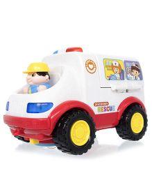 Toyhouse All-Around Ambulance - White