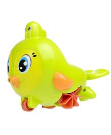 Toyhouse Pull Line Bird With Water Spray Bath Toy - Green