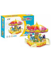 Toyhouse Electronic 3D Puzzle Flying Swing - Multi Color