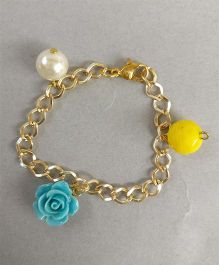 Tiny Closet Rose Bracelet - Multi Color