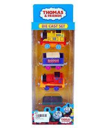 Thomas & Friends Diecast Train Set - Multicolor
