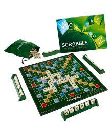 Emob Scrabble Board Game - Multicolor