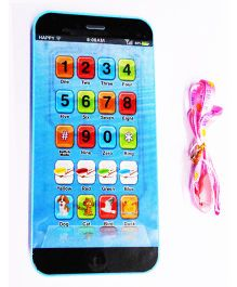 Emob Kids Y Phone Musical Mobile Educational Gift Toy - Blue