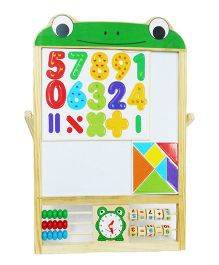 Emob 2 in 1 Sketchpad Writing Board - Multicolor