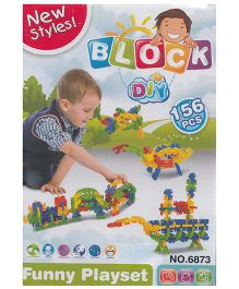 Emob New Styles DIY Baby Block Real Action Fun Playset - 156 Pieces