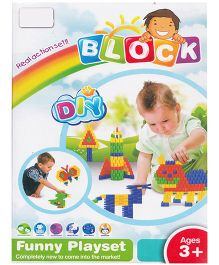 Emob New Styles DIY Baby Block Real Action Fun Playset - 288 Pieces