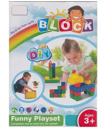 Emob New Styles DIY Baby Numeric Block Real Action Fun Playset - 120 Pieces