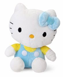 Hello Kitty Soft Toy White & Blue - 37.5 cm