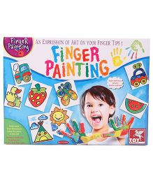 Toy Kraft Finger Painting Kit - Multicolor