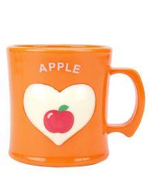Apple Print Cup Yellow - 330 ml