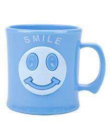Smile Print Cup Blue - 330 ml